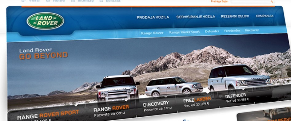 Land Rover Distributer